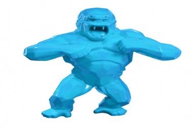 Gorille bleu twitter (Kong bleu twitter)